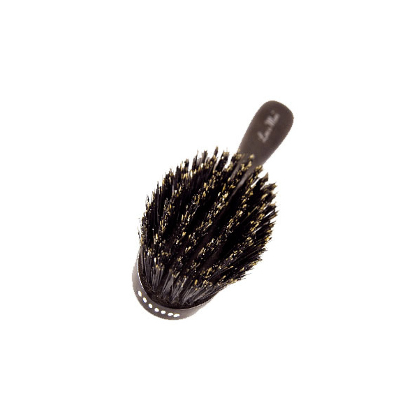 how to clean a wood bristle hair brush