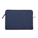 "Zip case for Macbook pro 13"" / air / retina - Blue denim - Pijama"