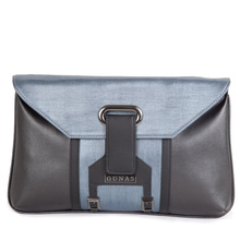 Bella blue clutch