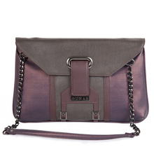 Bella purple clutch