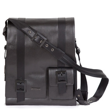 Black Frankfurt messenger bag