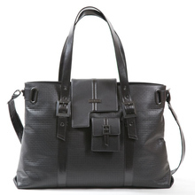 Black London tote