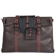 Brown London tote
