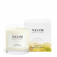 Happiness candle - White neroli, mimosa & lemon - Neom Organics
