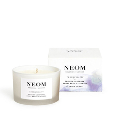 Tranquility candle - English lavender, sweet basil & jasmine