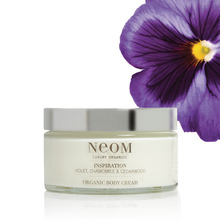 Inspiration Body Cream - Violet, Chamomile & Cedarwood