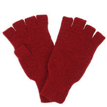 Red Alpaca mittens - Andes Made