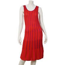 Torsad red Knitt dress