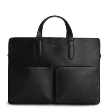 Soren briefcase - Black - Matt & Nat