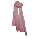 Cosy knitt cashmere stole - Amethyst