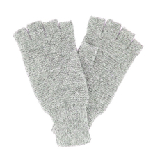 Light grey Alpaca mittens - Andes Made