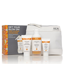 """Get your glow on"" skincare gift set"