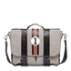 Charly Ascari grey Messenger bag - Entre 2 Rétros