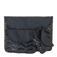 "Pocket ""Nïka"" (S-M-L) - Black & Sequins"