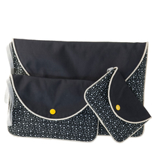 "Pocket ""Nïka"" (S-M-L) - Black & Stars"