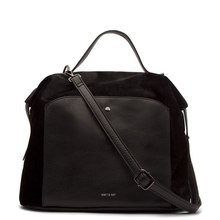 Bava handbag - Suede Black - Holiday collection - Matt & Nat