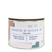 Winter Garden #1 Candle - Sandalwood - Samo