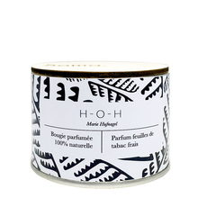 H-O-H Candle - Fresh Tobacco Leaves - Samo