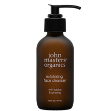 Jojoba & Ginseng exfoliating face cleanser