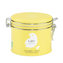 Ginger & lemon green tea - Lov Organic