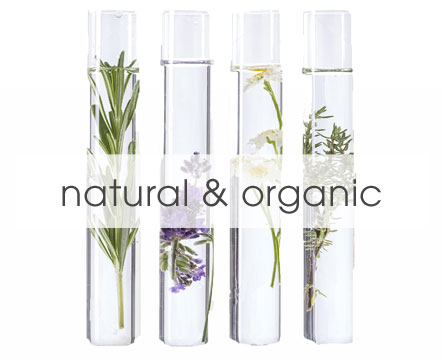 Natural and organic beauty products and cosmetics