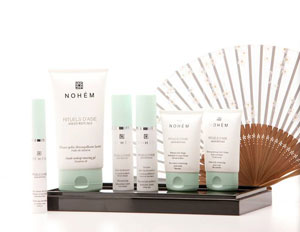 Nohèm organic face skincare range with asian natural ingredients