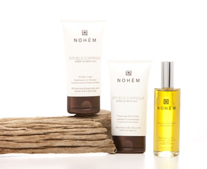 Nohèm organic body care range with african natural ingredients
