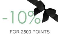 10% organic cosmetics discount