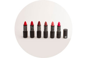 Sweet and Safe Kiss organic lipsticks by Christophe Danchaud and Absolution