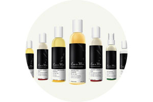 Less is More luxury organic shampoo and natural hair care