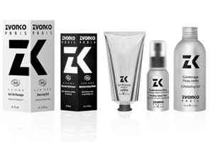Zvonko organic beauty products and face care for men