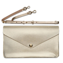 Gold Enveloppe clutch bag - Veja