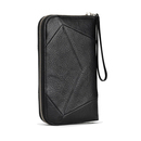 Miss Angie leather purse - Black - Sonya Kashmiri