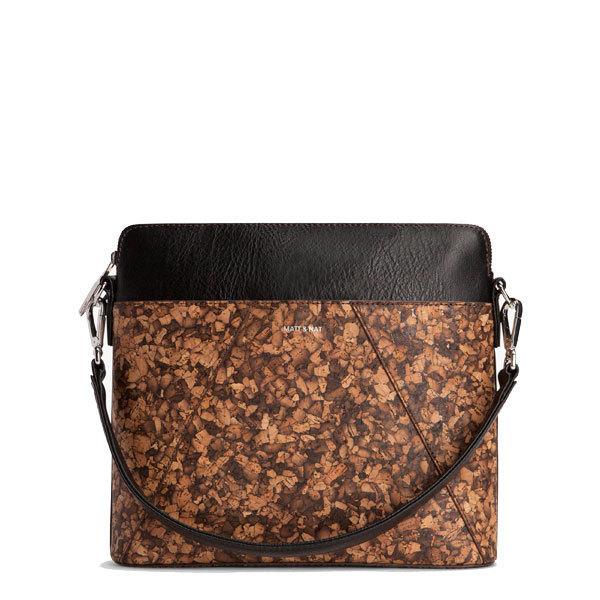 f308fda21191 Cork leather luxury shoulder bag Whilem - Matt   Nat