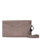 Clutch Bag - Vintage Look - Taupe - Jannissima