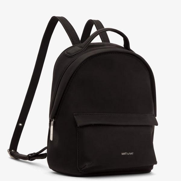 d03b2e9c994b ... Munich mini backpack - Suede Black - Holiday collection - Matt   Nat ...