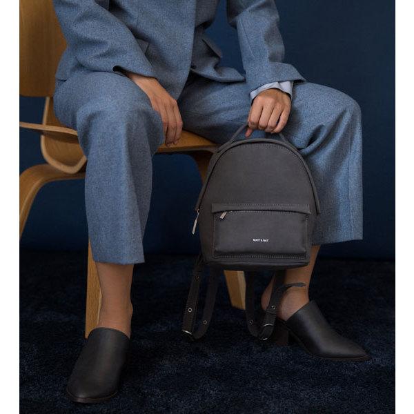 b0d2bf0004e5 ... Munich mini backpack - Suede Black - Holiday collection - Matt   Nat