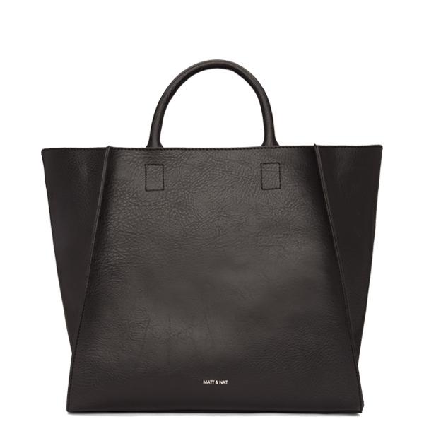Black vegan luxury handbag Loyal - Matt   Nat 0b1dab50a20df