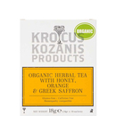Herbal tea with Orange, Honey & Greek Saffron  - Krocus Kozanis
