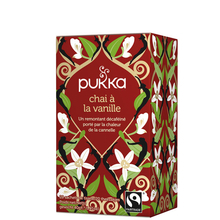 Vanilla Chai - Spiced herbal tea with sweet vanilla - Pukka