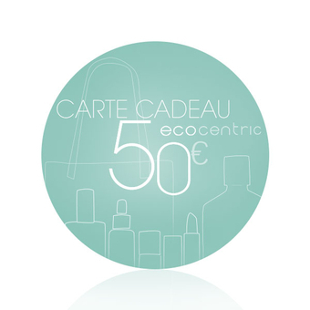 50€ E-Gift card - Ecocentric
