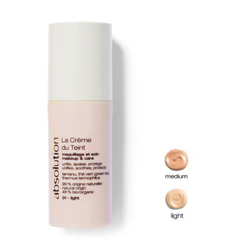 La Crème du Teint - Organic tinted cream (2 shades) - Absolution
