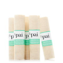 Muslin face cloth (pack of 5) - Pai