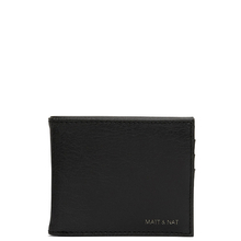 Rubben wallet - Black - Matt & Nat