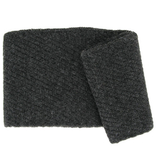 Punto dark grey Alpaca scarf - Andes Made