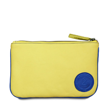 F2 Chimeri yellow and blue wallet - Entre 2 Rétros