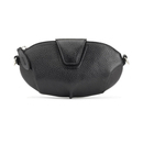 Miss Mary leather clutch - Black