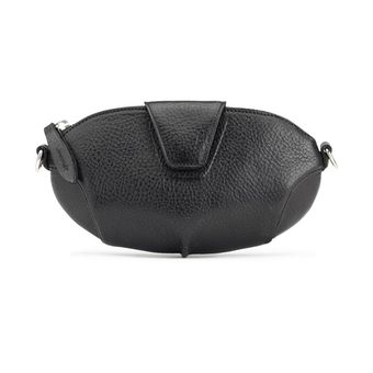 Miss Mary leather clutch - Black - Sonya Kashmiri