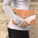 Leather Clutch - Love - Caramel/Grey - Beliya