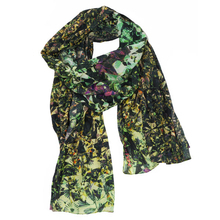"Scarf ""Prisme"" green - Grain de Brune"